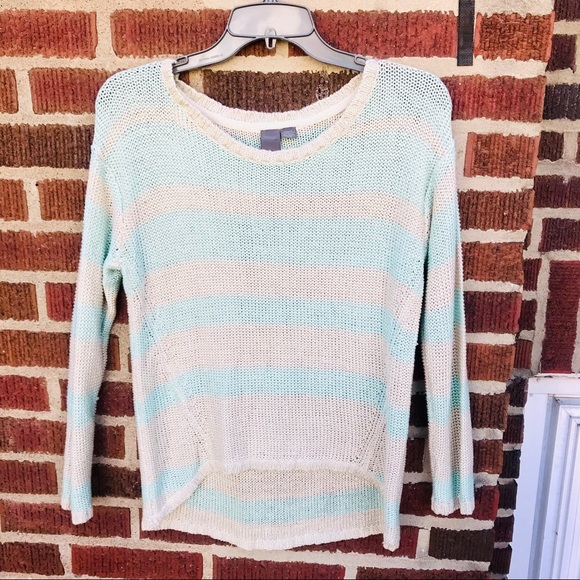 Francesca's Collections Sweaters - Francesca's Quinn Striped Knit Sweater